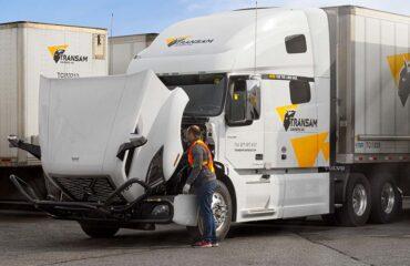 Transam Carriers pre-trip inspection