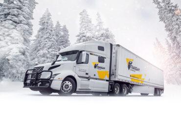 Transam Carriers' winter truck