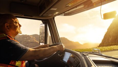 Living a trucker's life: drive and travel