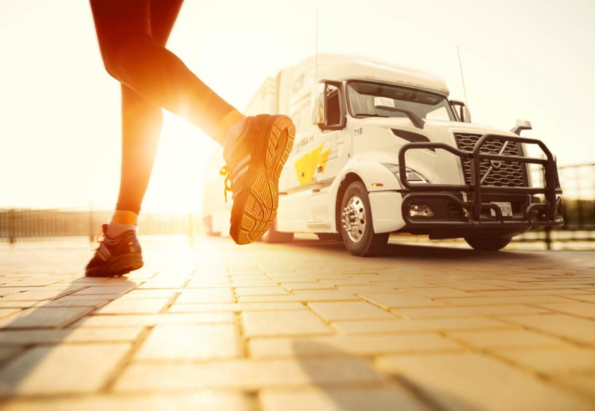 Wellness at trucking company